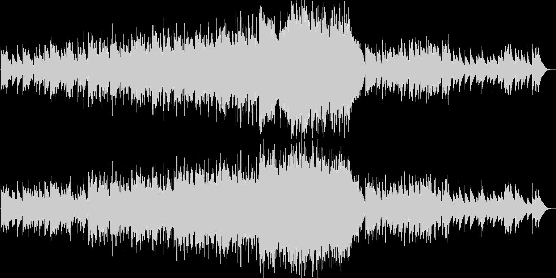 ビブラフォンメインの可愛らしい七夕曲の未再生の波形