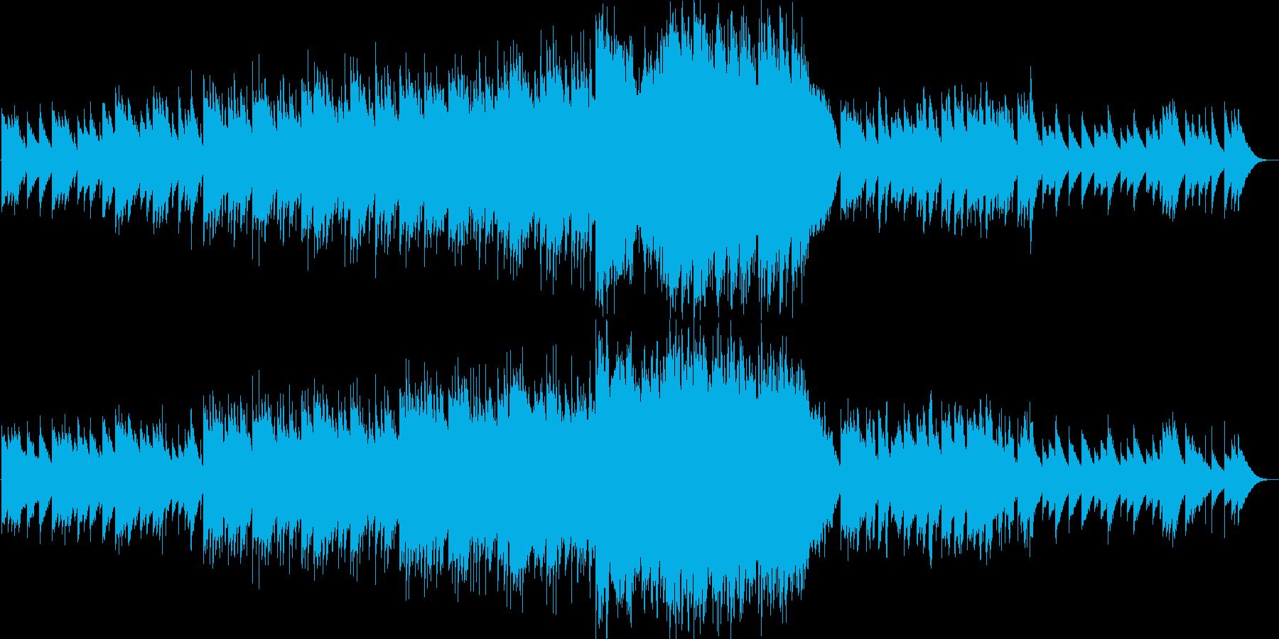ビブラフォンメインの可愛らしい七夕曲の再生済みの波形