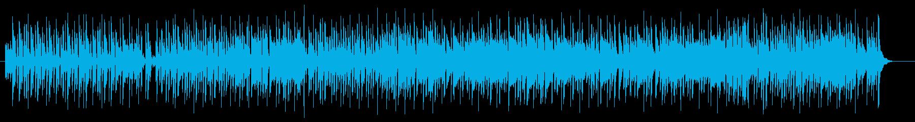爽やかで可愛いメロディのポップスの再生済みの波形