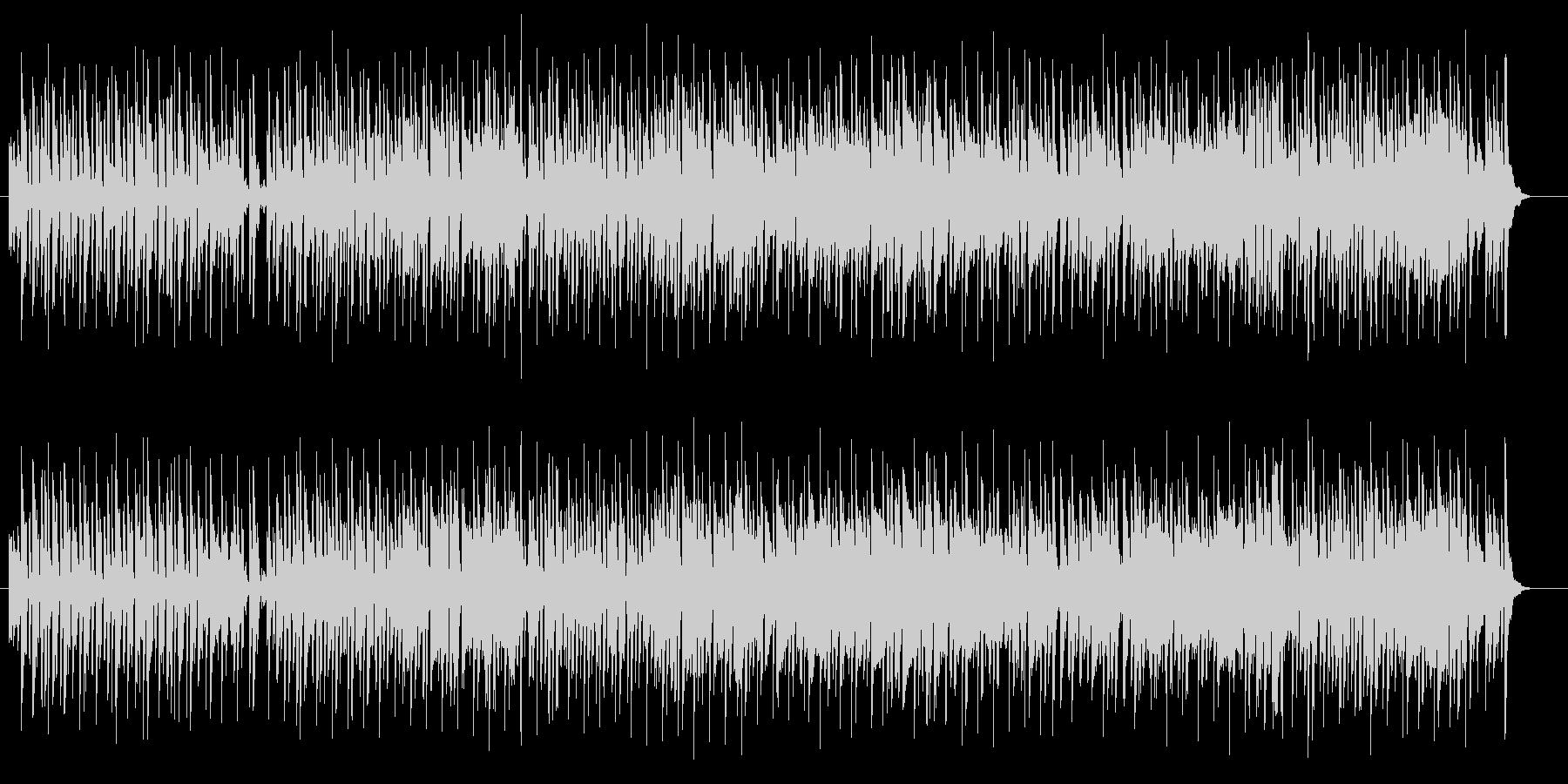 爽やかで可愛いメロディのポップスの未再生の波形