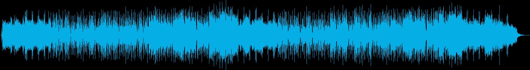 明るく爽やか弦楽器シンセサイザーサウンドの再生済みの波形