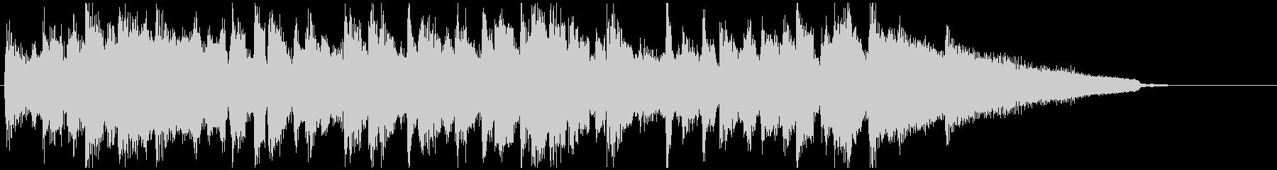 さっぱり&少し哀愁系◆CM系15秒ジャズの未再生の波形
