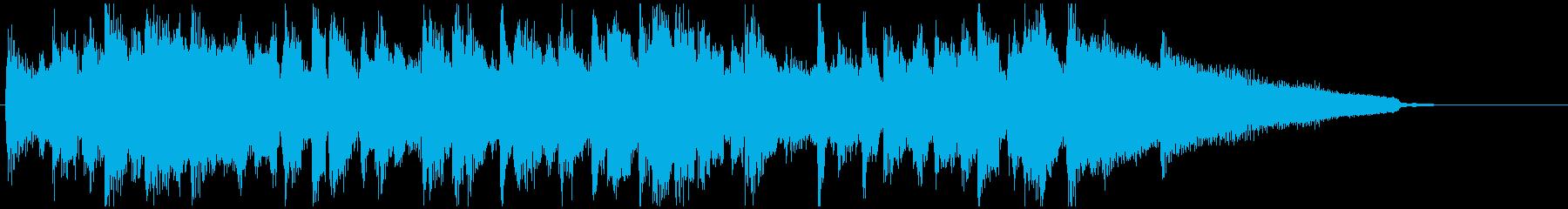 さっぱり&少し哀愁系◆CM系15秒ジャズの再生済みの波形