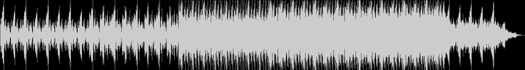 ホラー、緊迫した場面などに合う曲の未再生の波形