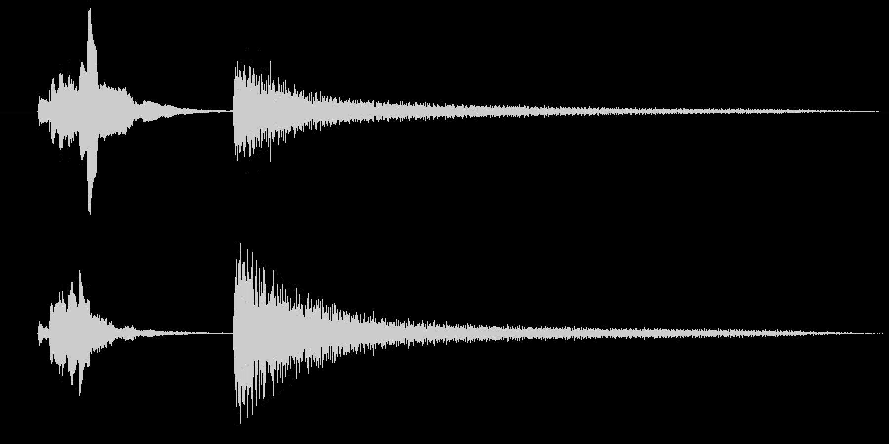 【生ピアノ】不思議で、ちょっぴり怖い……の未再生の波形