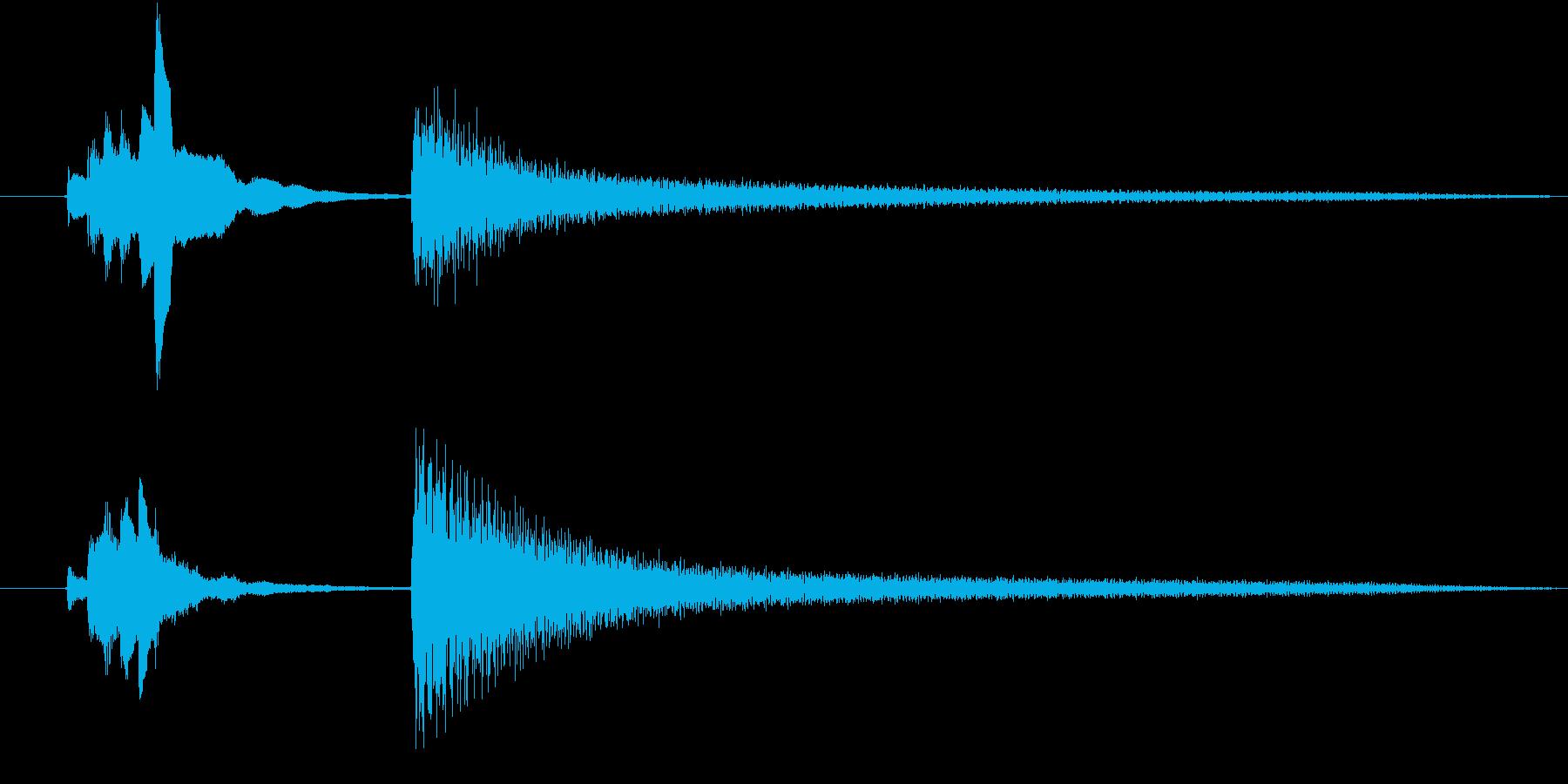 【生ピアノ】不思議で、ちょっぴり怖い……の再生済みの波形