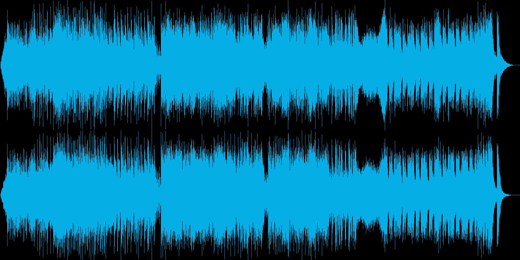 映画・ゲーム用バトルBGM32の再生済みの波形