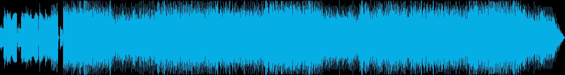 全て8bitなメタル系ボス戦用BGMの再生済みの波形