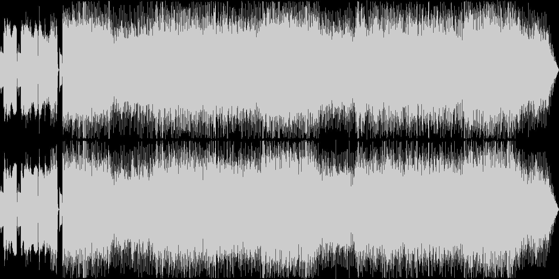 全て8bitなメタル系ボス戦用BGMの未再生の波形