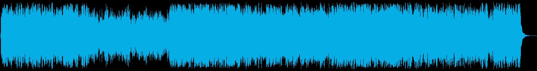 幻想的で神聖なスピリチュアルサウンドの再生済みの波形