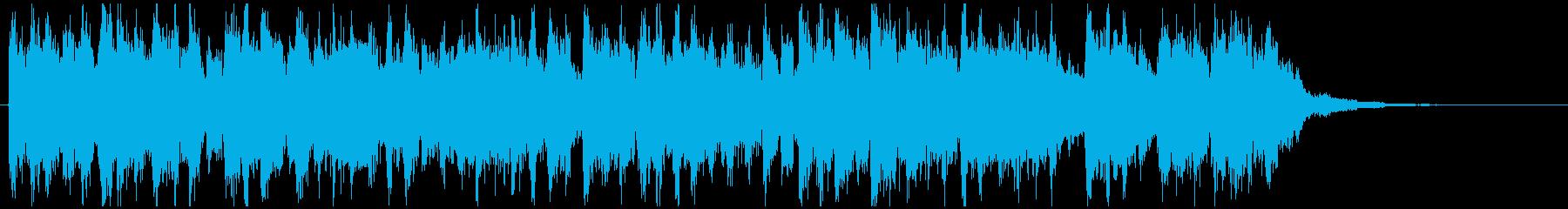 ジャジードラムンベース◆CM向け15秒曲の再生済みの波形