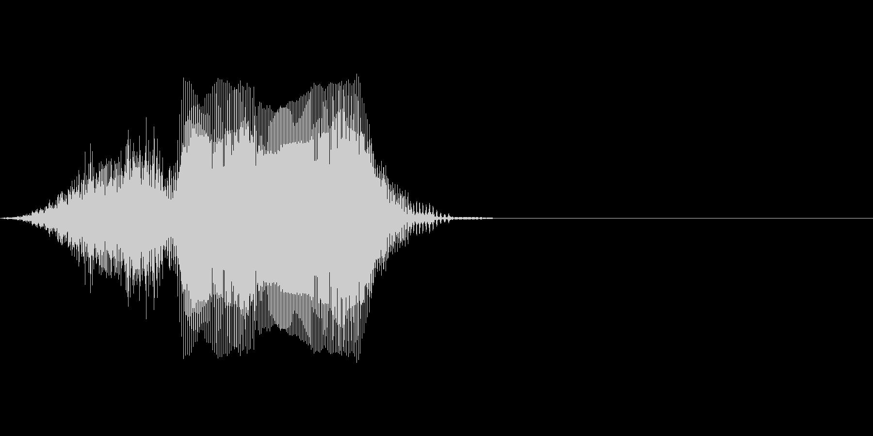 Cの未再生の波形