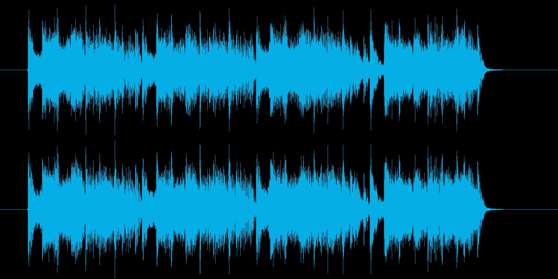 ディスコサウンドの再生済みの波形