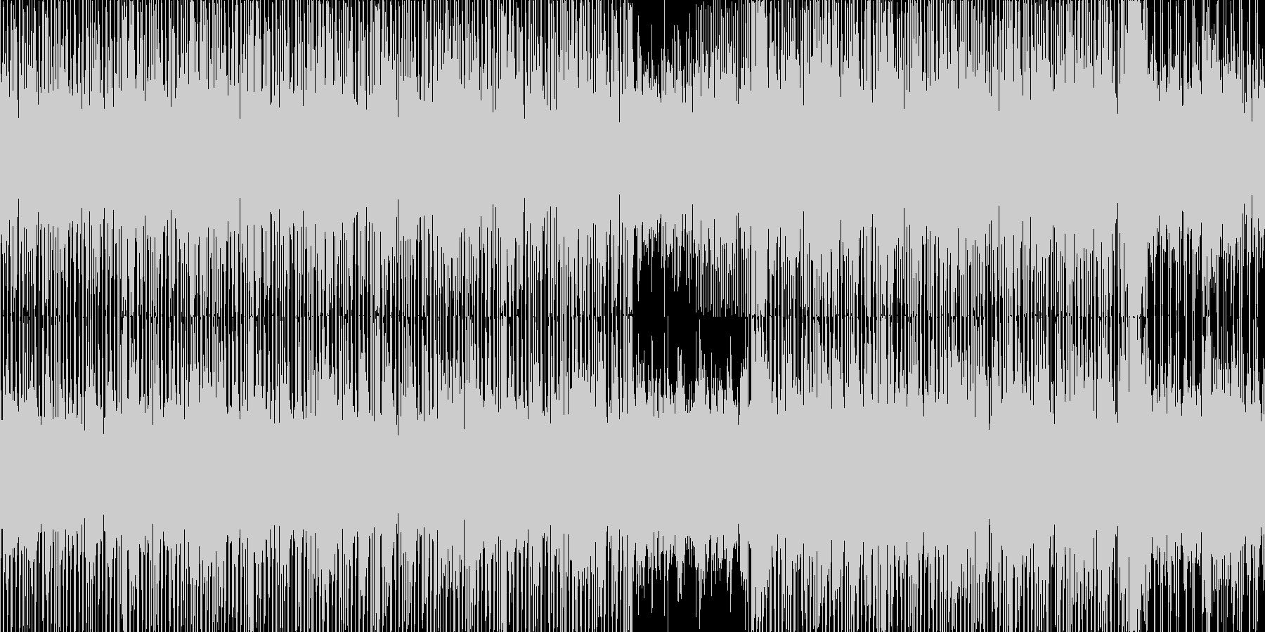 綺麗で神秘的なゆったりBGM_LOOPの未再生の波形