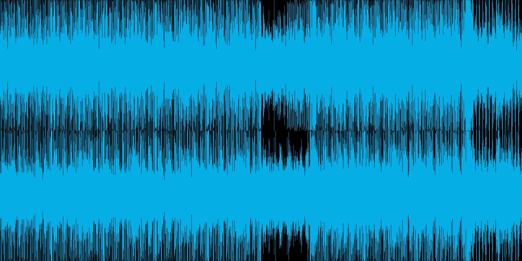 綺麗で神秘的なゆったりBGM_LOOPの再生済みの波形