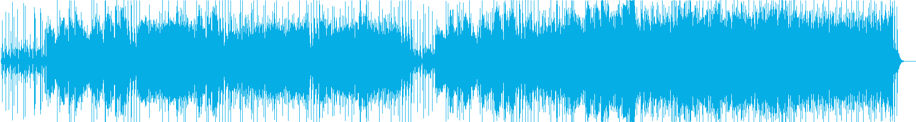 青空の爽やかさの再生済みの波形