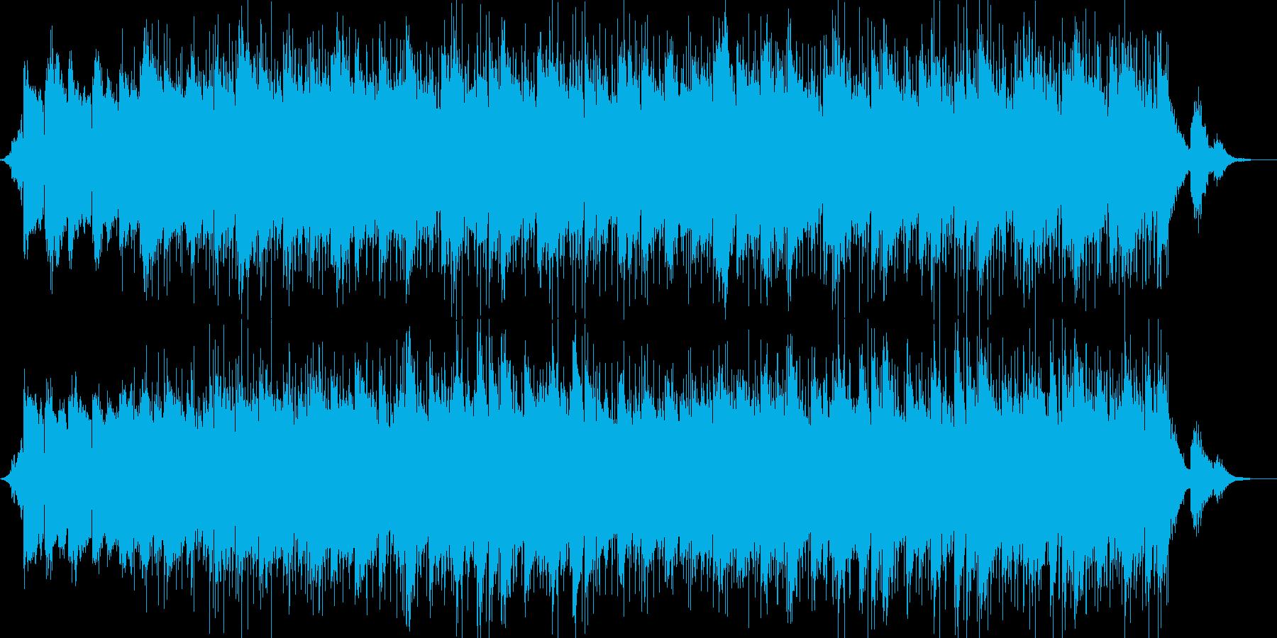 企業向け映像制作でビンテージ映像にマッチの再生済みの波形