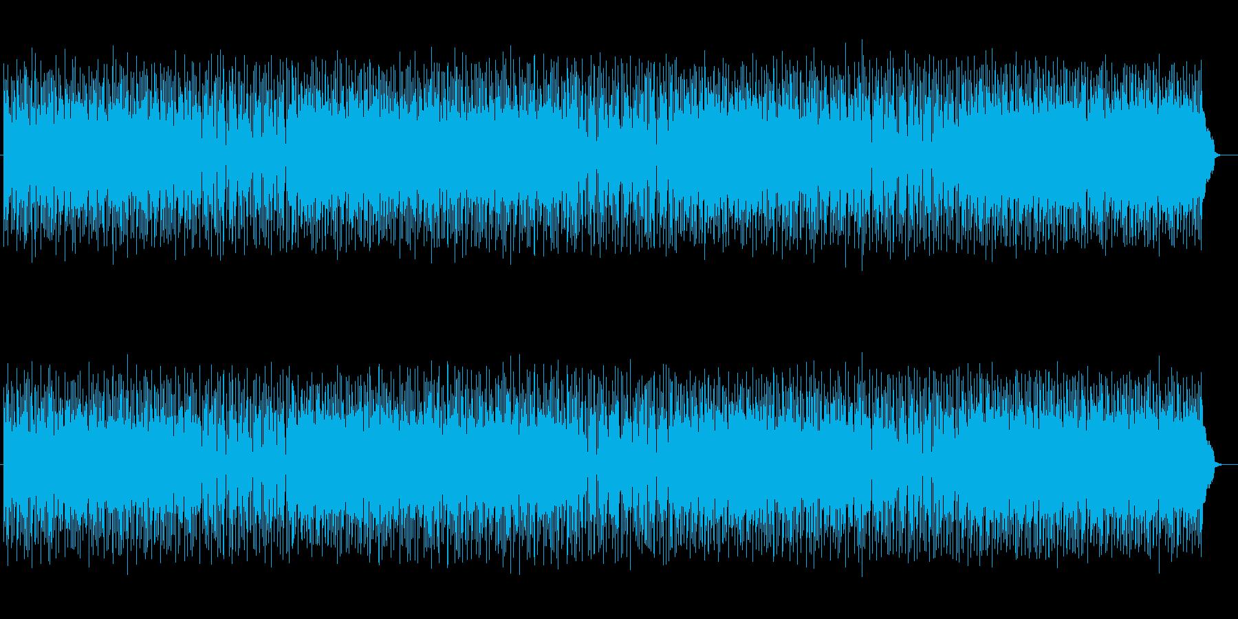 軽快でメローなテクノポップサウンドの再生済みの波形