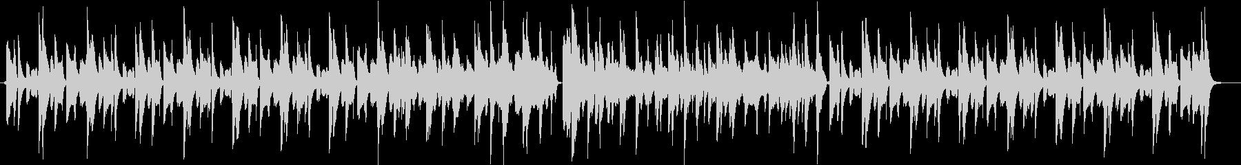ほのぼの系動画用ループBGMの未再生の波形