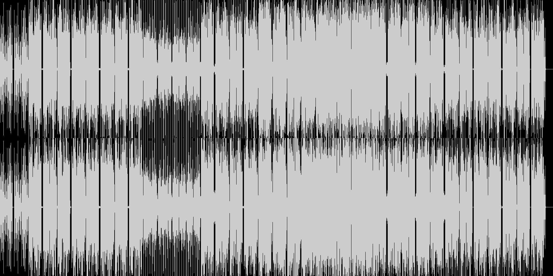 ディストピアに合う機械的なエレクトロニカの未再生の波形