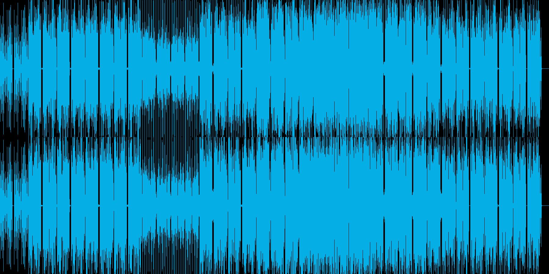 ディストピアに合う機械的なエレクトロニカの再生済みの波形