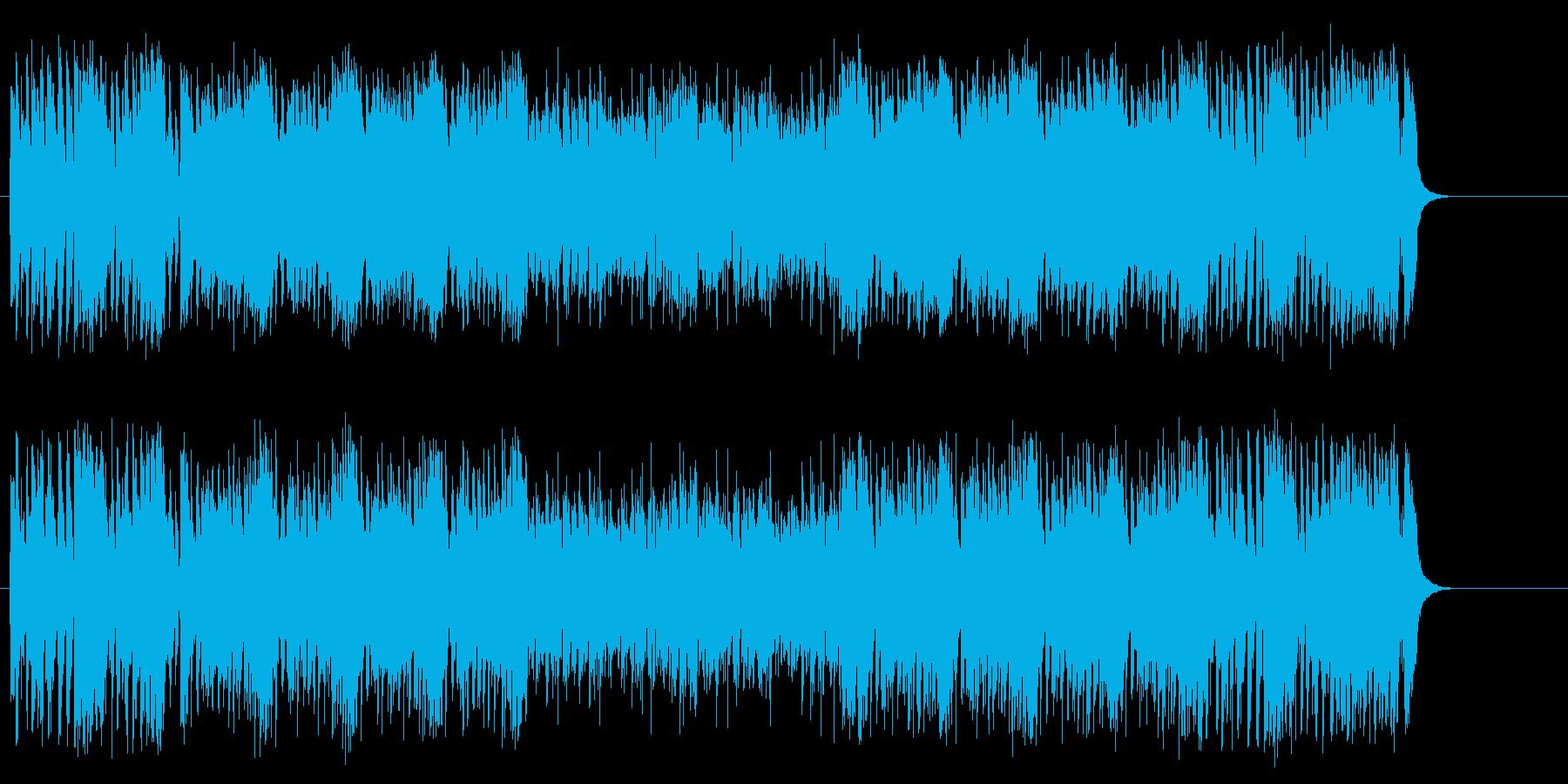 颯爽としてハデなファンク/フュージョンの再生済みの波形