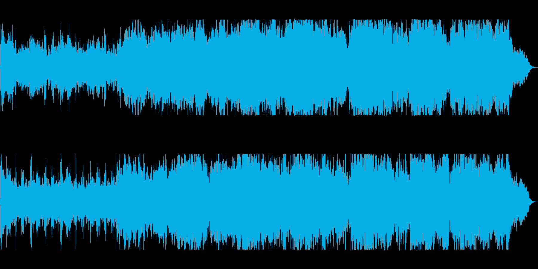 優雅で感動的なクラシックの再生済みの波形