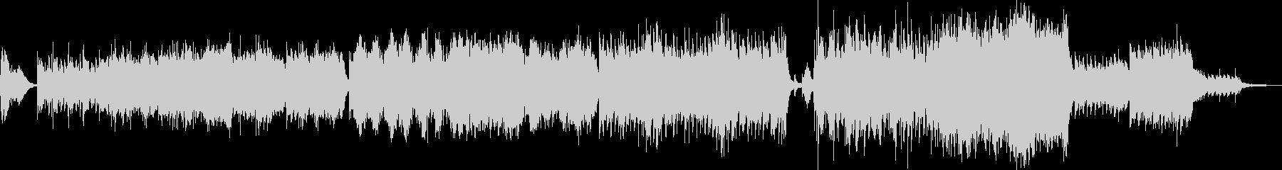 爽快なオーケストラポップスの未再生の波形