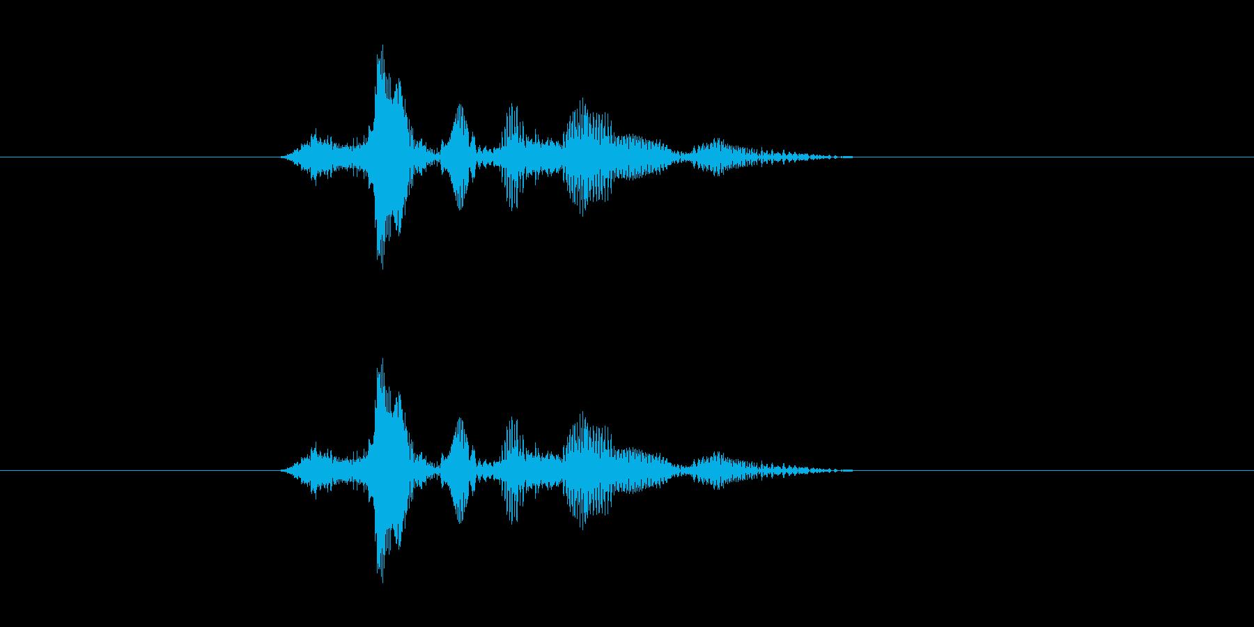 サクダソンドゥンの再生済みの波形