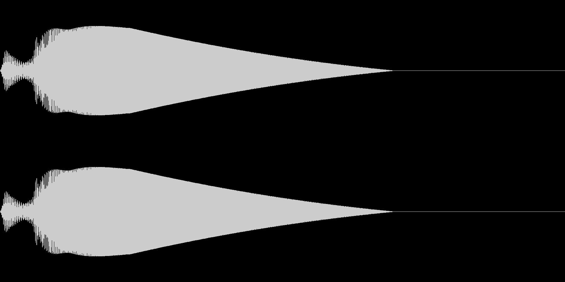 【ピヨーン】ファミコン系ジャンプ音_02の未再生の波形