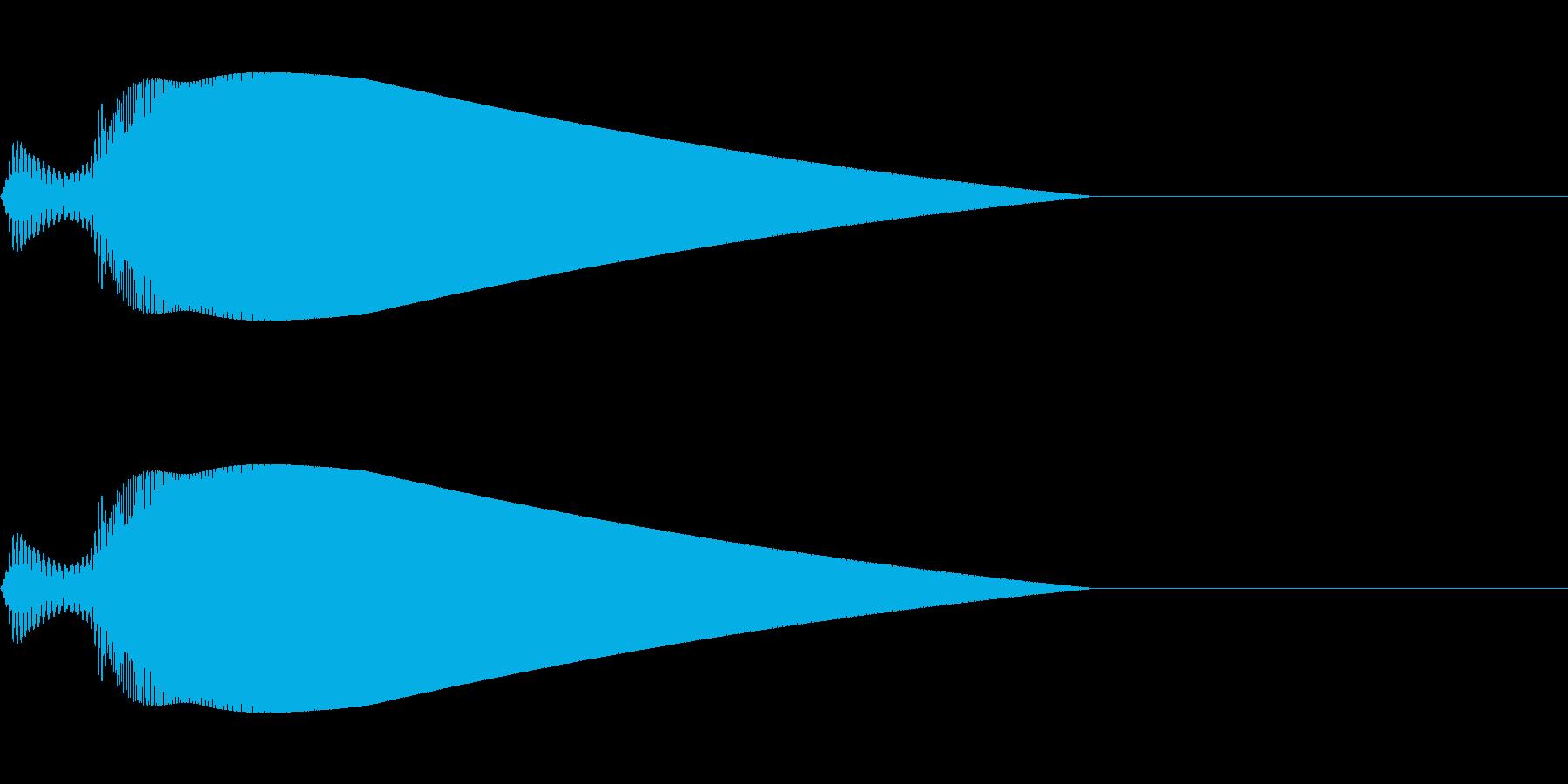 【ピヨーン】ファミコン系ジャンプ音_02の再生済みの波形
