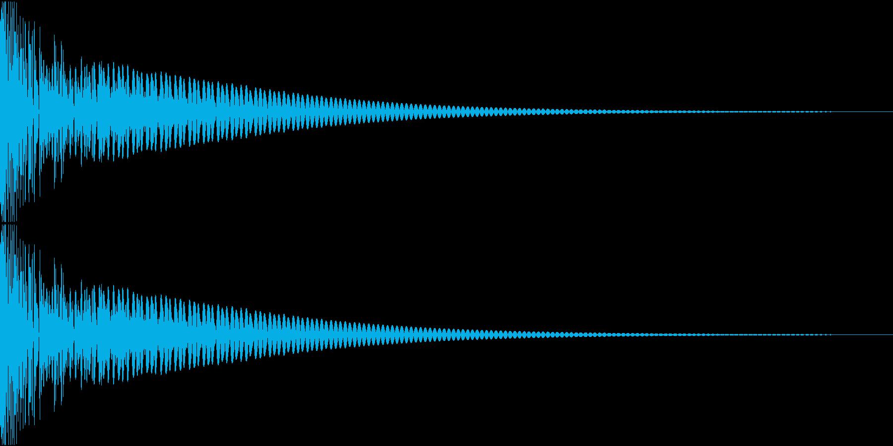 DTM Tom 6 オリジナル音源の再生済みの波形
