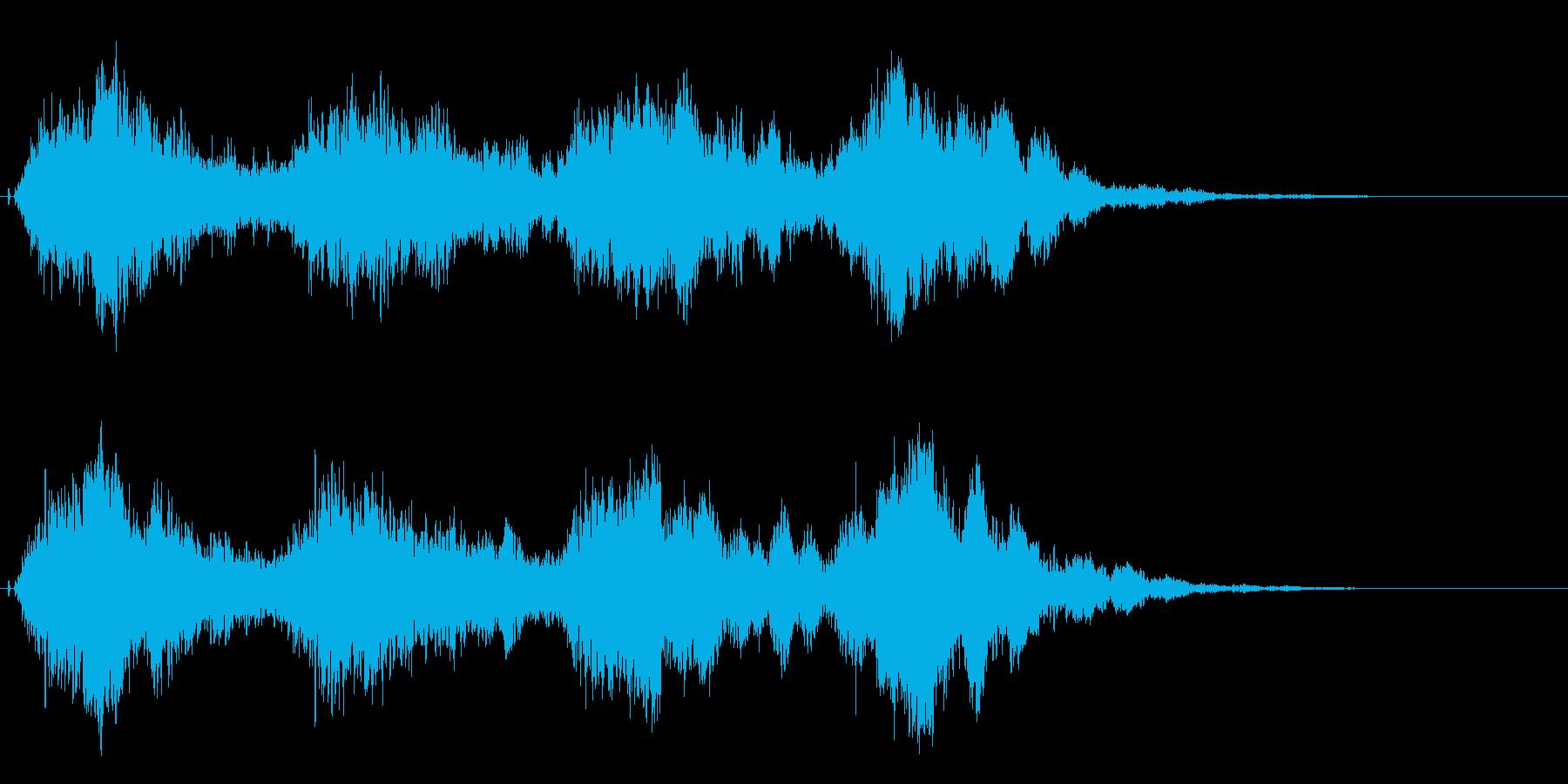 注意、警告音、警報の効果音です!05の再生済みの波形