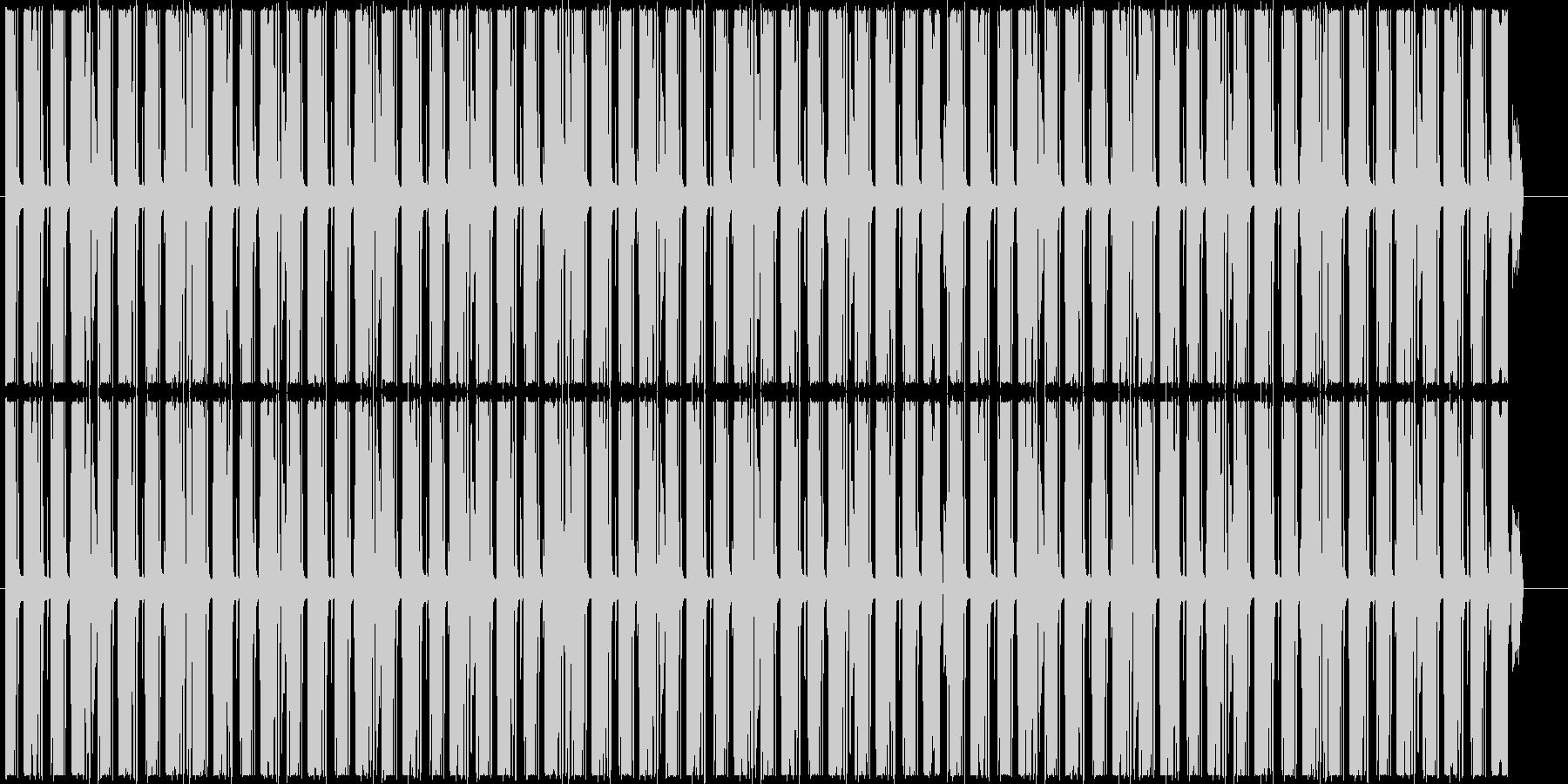 シンキングタイムなど 怪しいループBGMの未再生の波形