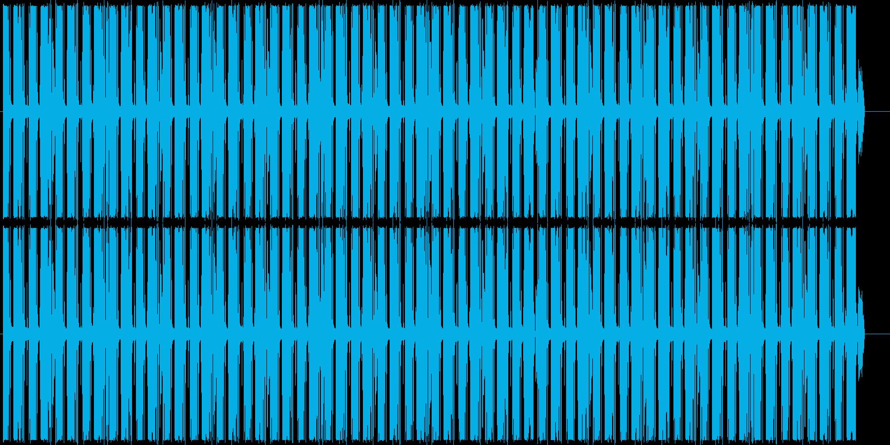 シンキングタイムなど 怪しいループBGMの再生済みの波形