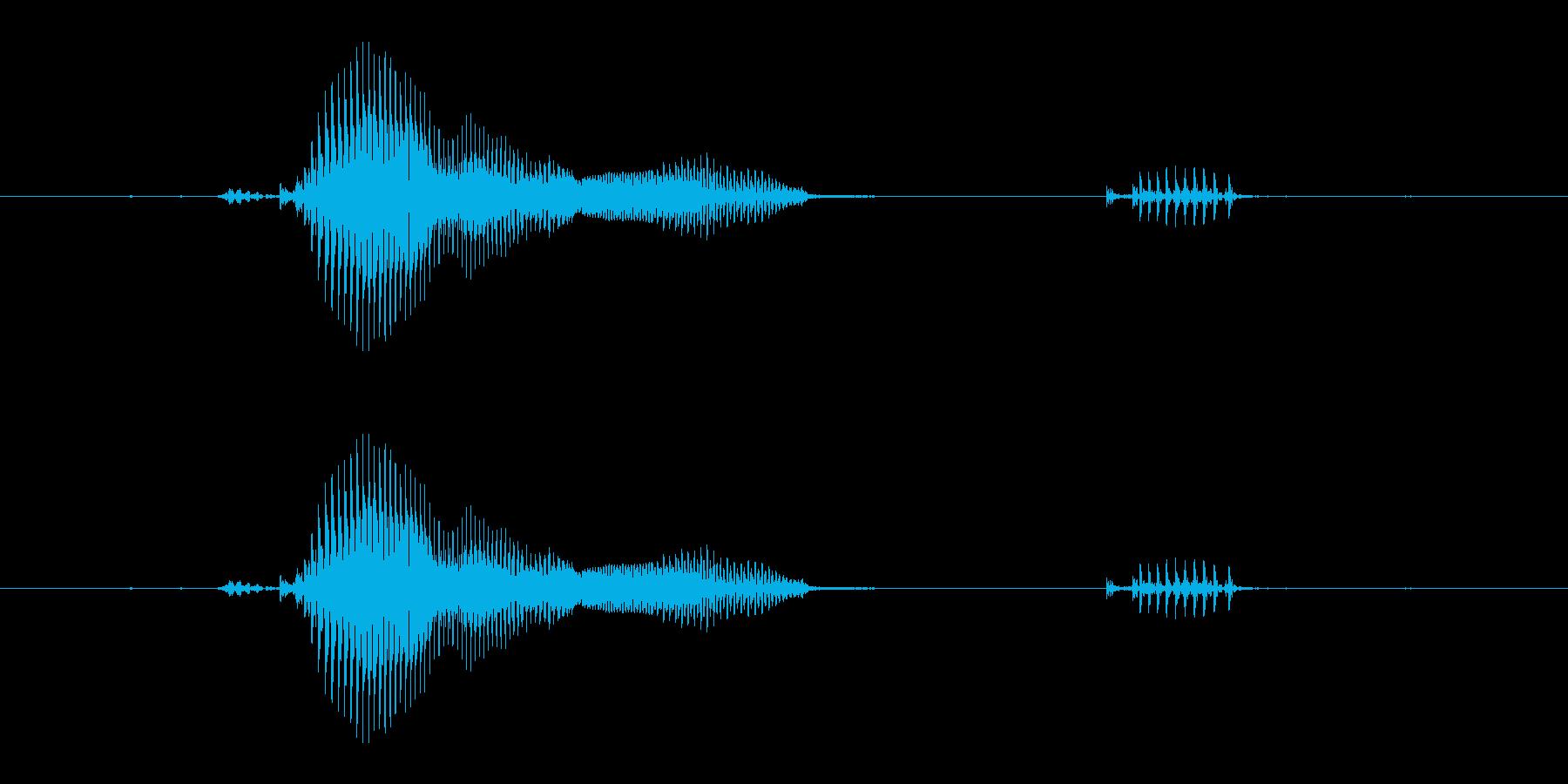 【宝石名】ガーネットの再生済みの波形