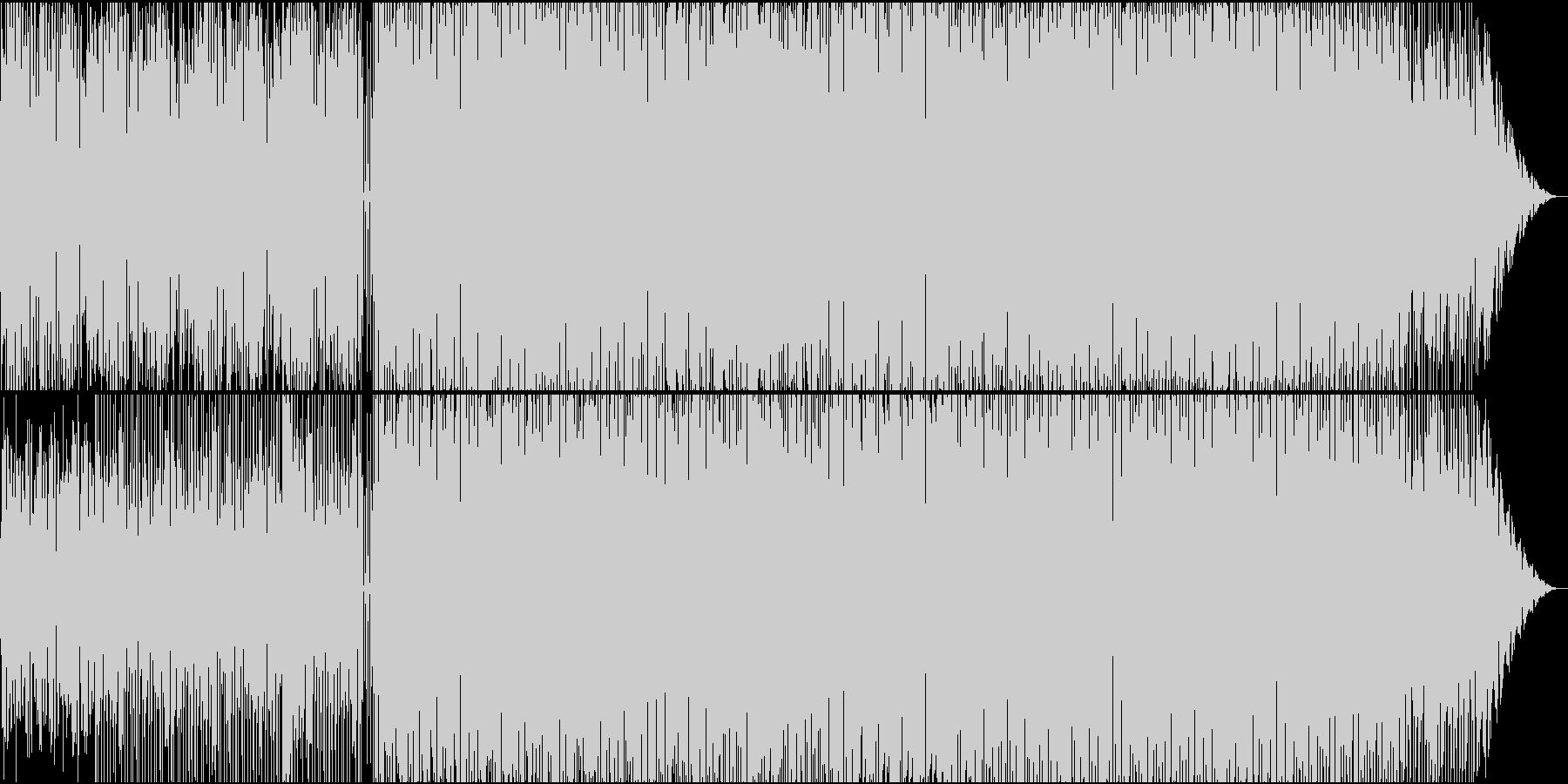 シンセで静かな夜を表現の未再生の波形