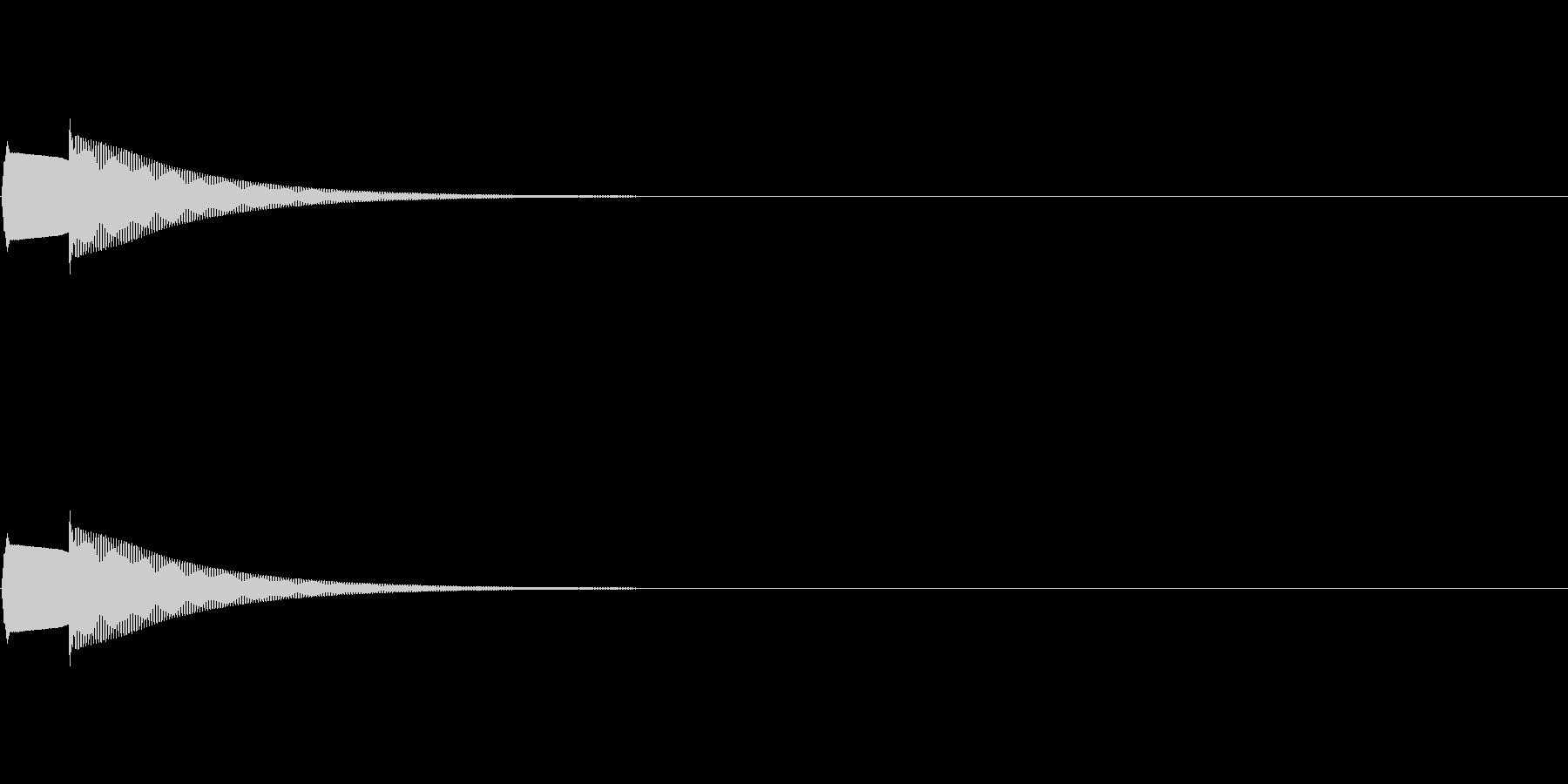 クイズ正解・ピンポーン他の未再生の波形