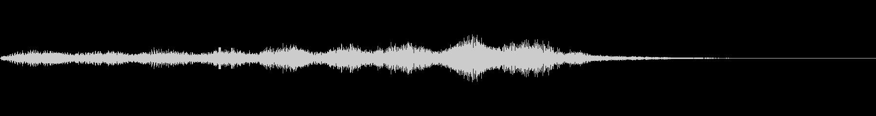 【SE 効果音】奇妙な音3の未再生の波形