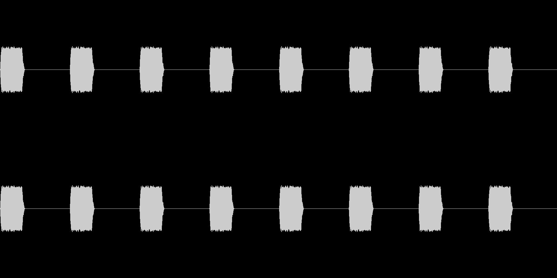 ブーン、ブーン(携帯電話のバイブ)の未再生の波形