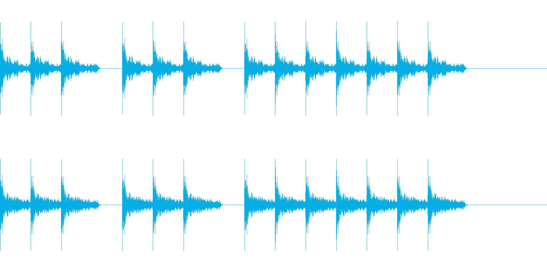 三三七拍子 その4の再生済みの波形