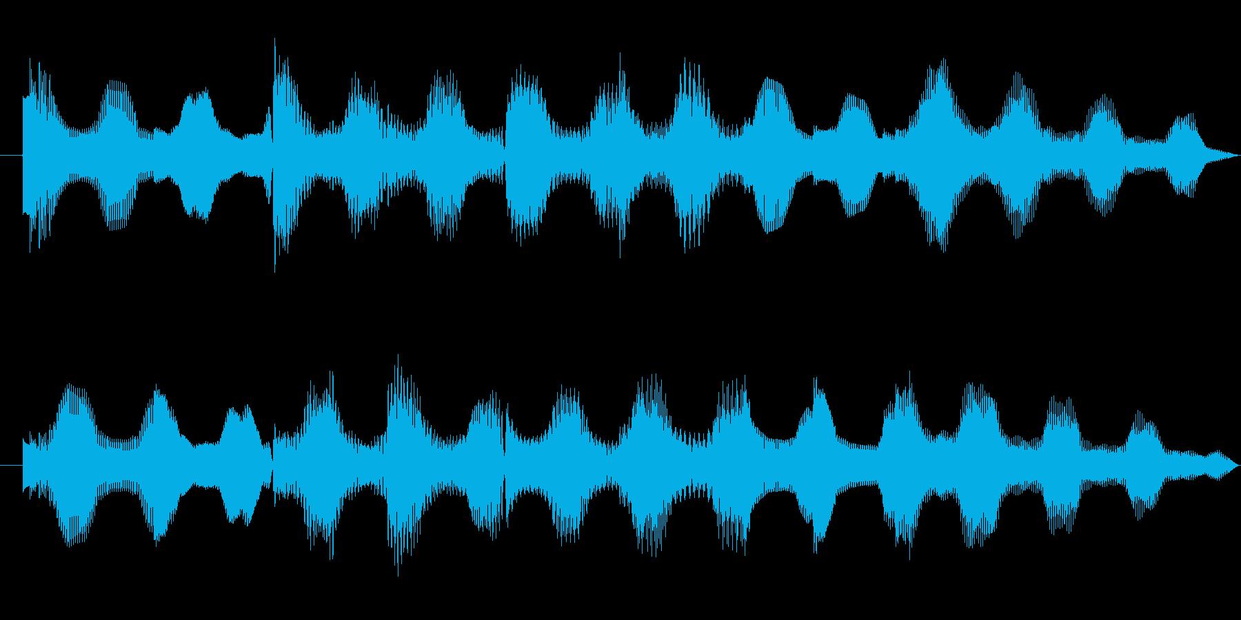 E.Piano soundの再生済みの波形