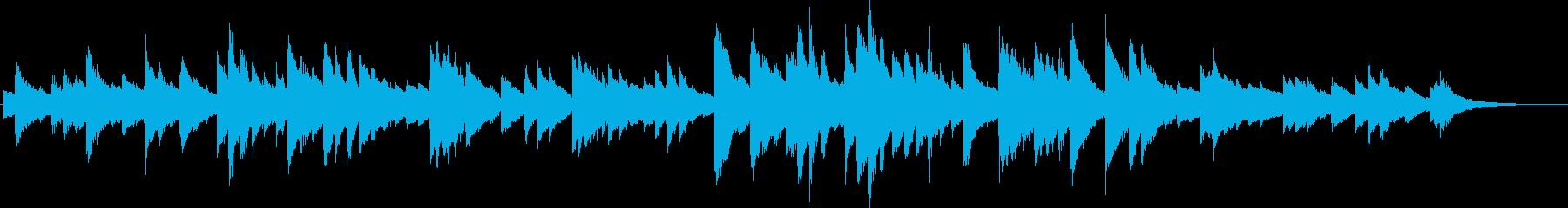 ピアノソロ/湖/泳ぐ/静けさの再生済みの波形