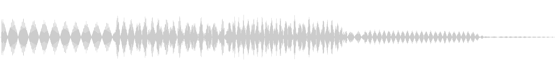 ボタン決定音システム選択タッチ登録C03の未再生の波形