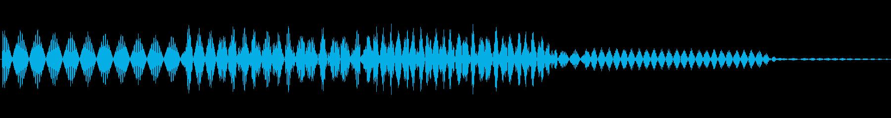 ボタン決定音システム選択タッチ登録C03の再生済みの波形