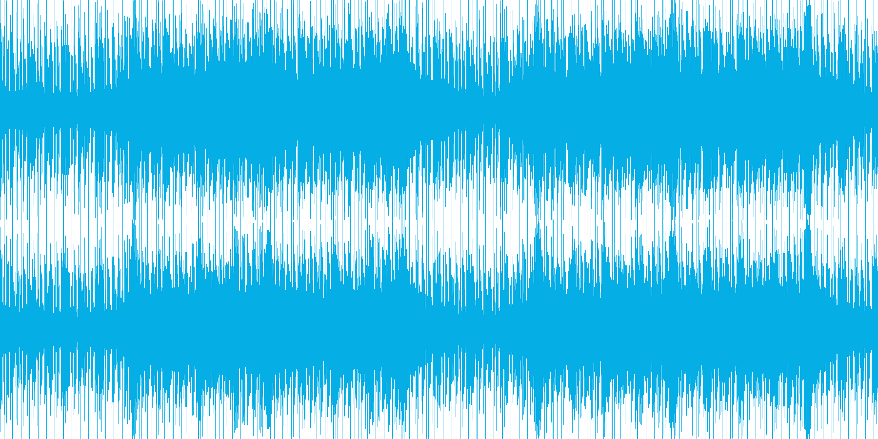 ループ素材 近未来・SF・エレクトロの再生済みの波形