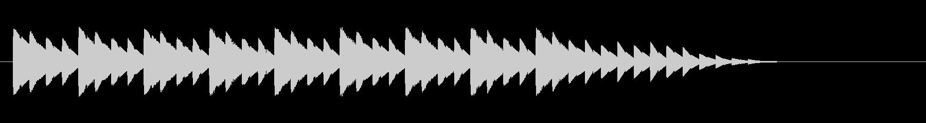 ピコピコクリスマスジングル Xmasの未再生の波形