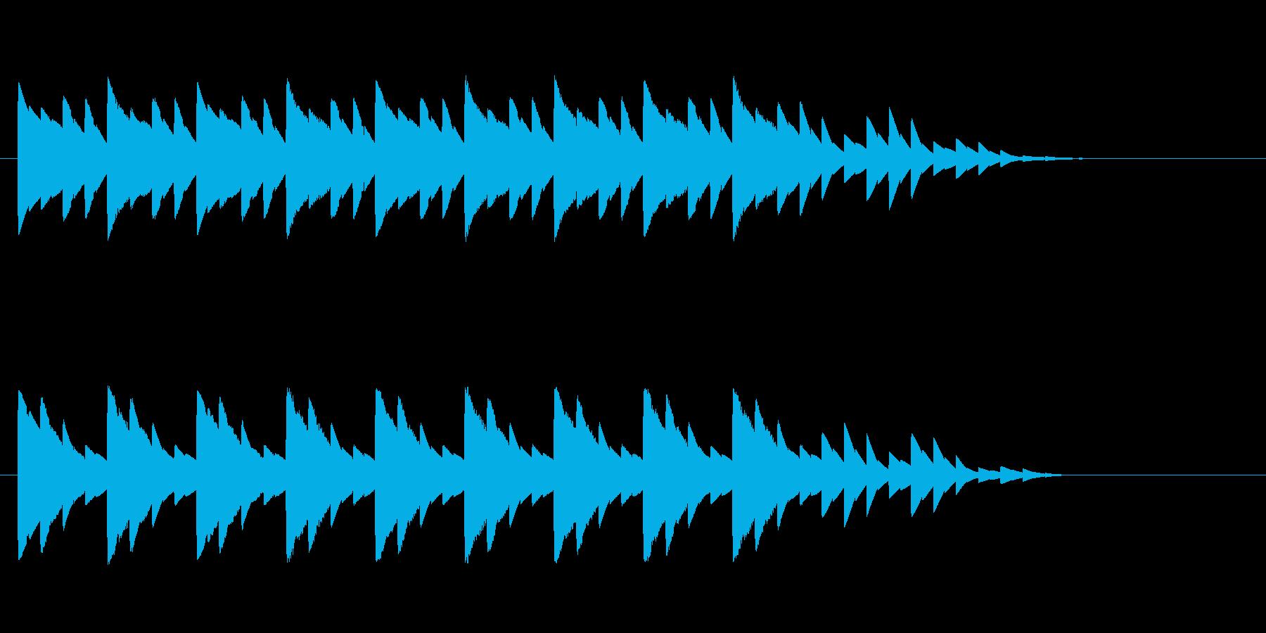 ピコピコクリスマスジングル Xmasの再生済みの波形