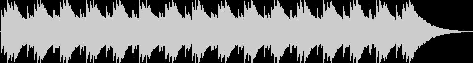 ピロピロピロ(目覚まし時計のアラーム音…の未再生の波形