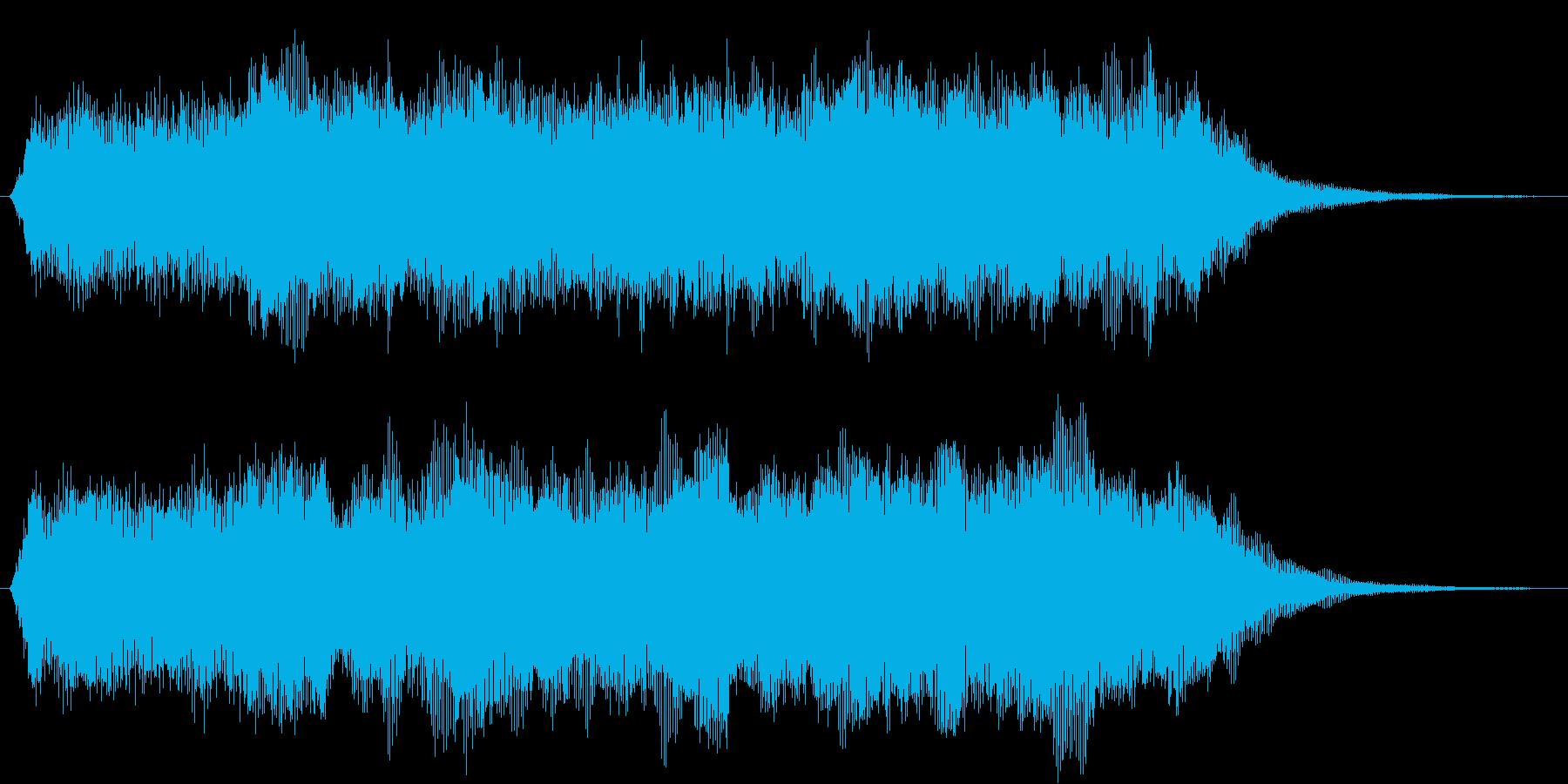 緊張感を意識した短いシーン効果音です。の再生済みの波形
